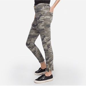 Express Camouflage Skinny Ankle Legging Jeans